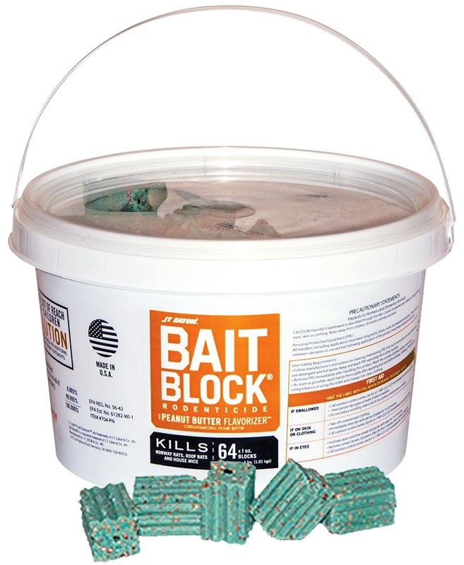 J.T. Eaton 704-PN Bait Block Rat/Mouse Killer