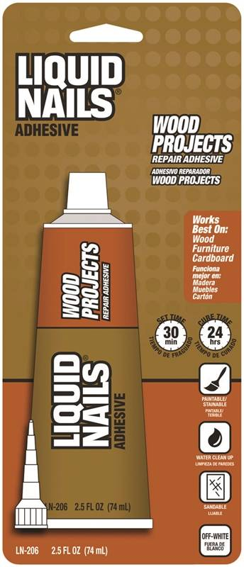 Liquid Nails Ln 206 Wood Projects Repair Adhesive