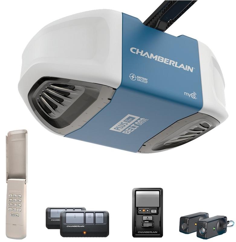 Chamberlain Wd962kev Door Opener 3 4 Hp 200 W Belt