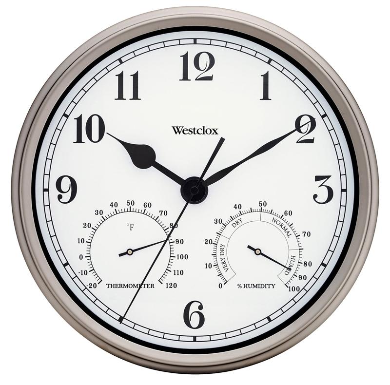 Big Ben 49832 Wall Clock Round 12 In