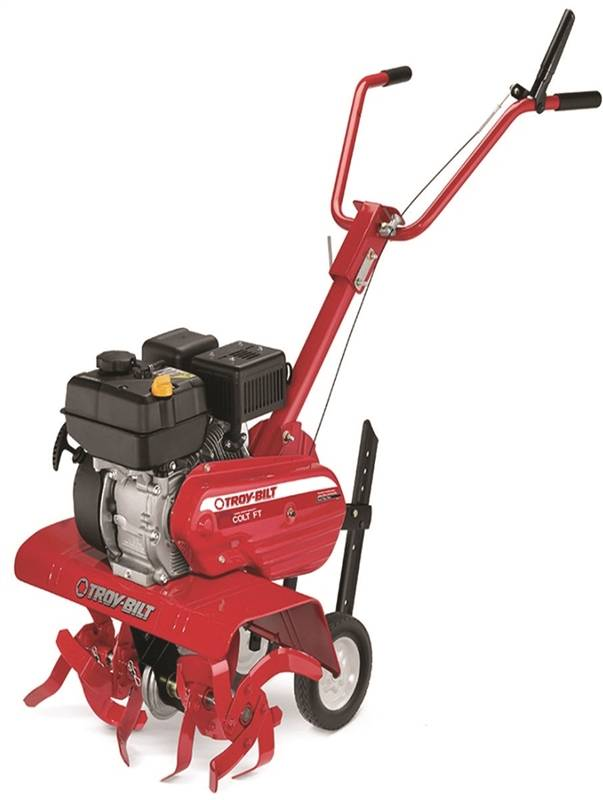 Troy-Bilt 21B-34M8766 Front Tine Tiller, 13, 22 and 24 in Working, 208 cc