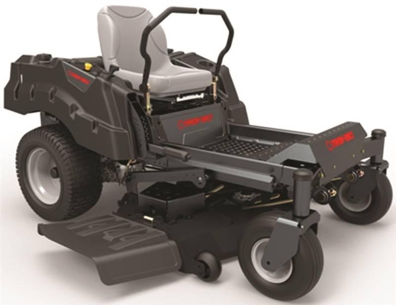 Troy-Bilt 17ANDALD066 Hydrostatic Lawn Mower, 60 in W, 25 hp, 724 cc Briggs  and Stratton Engine