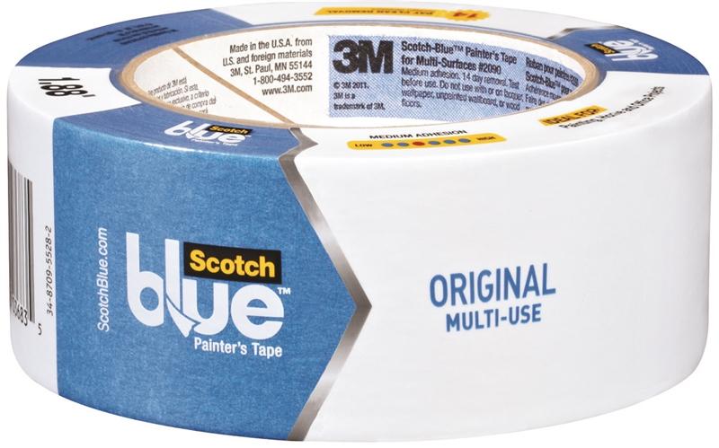 3m 2090 48nf Scotch Blue Masking Tape Painters Interior Exterior 48 Mm X 55 M