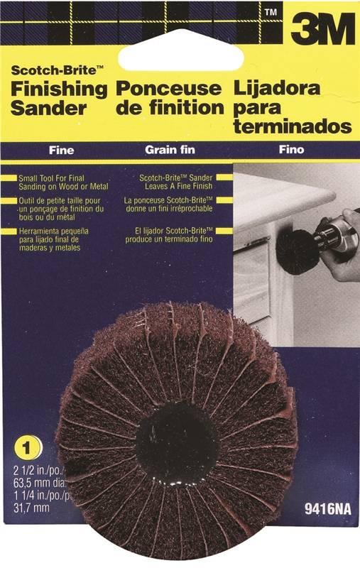 Scotch-Brite 9416 Sanding Disc, 2-1/2 in