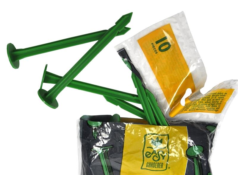 Easy Gardener 809 Biodegradable Landscape Fabric Peg