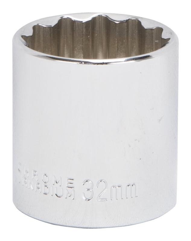 12 Point MINTCRAFT MT6534185 Socket 1//2 Drive 32mm