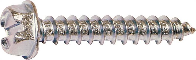 Midwest 02939 Self Tapping Screw No 10 X 1 1 2 In Steel
