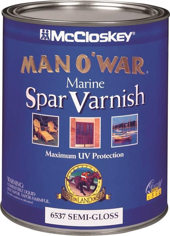McCloskey Man O'War 6537 Spar Varnish, 1 qt