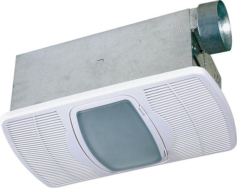 Air King AK55L Combination Exhaust Fan Heater, 100 W, 70 Cfm