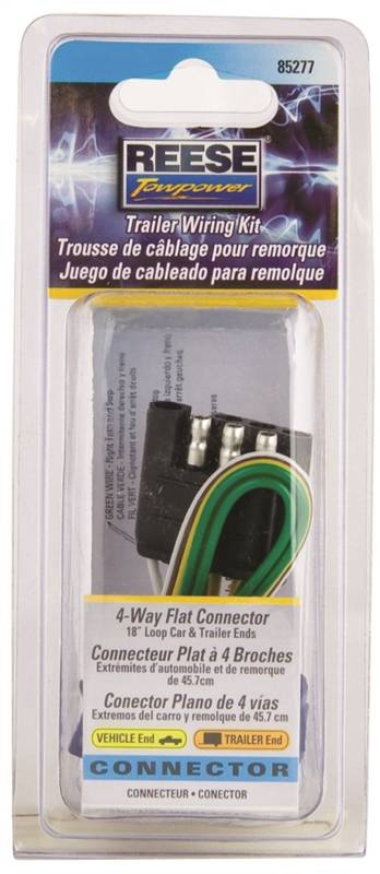 Super Reese Towpower 85277 4 Way Towing Electrical Wiring Kit 12 V 4 Wiring Digital Resources Bemuashebarightsorg