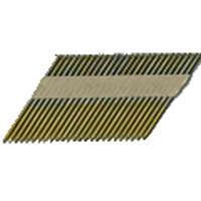 Pro-Fit 0601192 Stick Collated Framing Nail, 0.12 in x 3-1/4 in, 31 ...