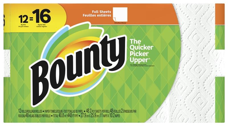 Bounty 94998 Paper Towel White Paper