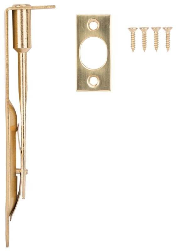 Prosource Lr 004 Ps Flush Bolt 6 In L Steel Bright Brass