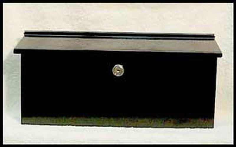 Dancy 320076 Ranch Locking Mailbox 15 1 2 In W 7 In H X 2