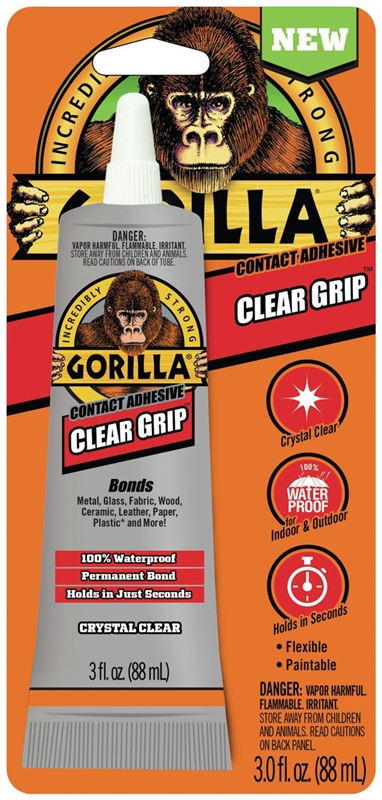 Clear Gorilla Grip Leather Shoe Repair