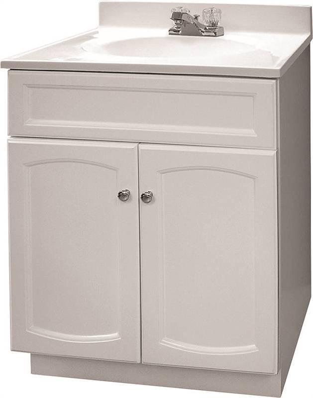 Bathroom Vanity Extended Over Toilet: Foremost Heartland HEW2418-PP Traditional Bathroom Vanity