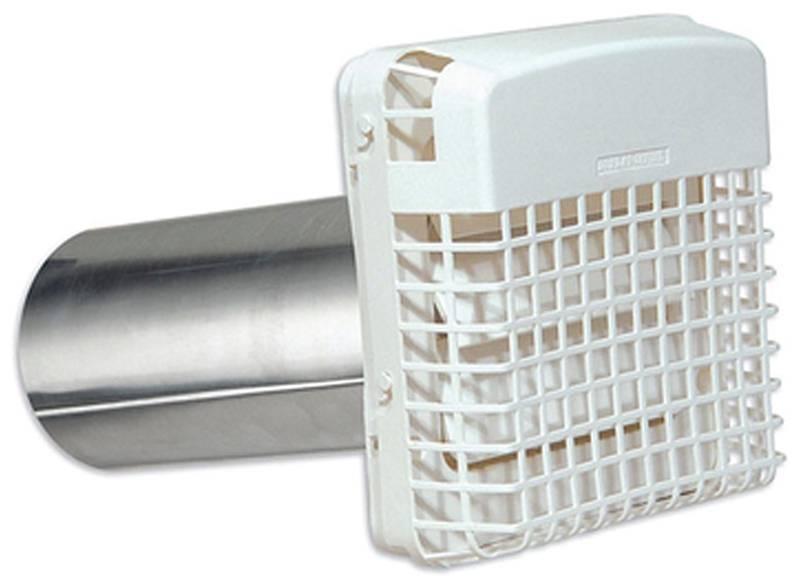 Progard Professional Exhaust Dryer Vent Hood With Pest Guard Polypropylene