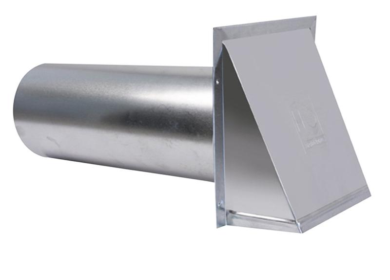 Hood Exhaust All Aluminum 3in