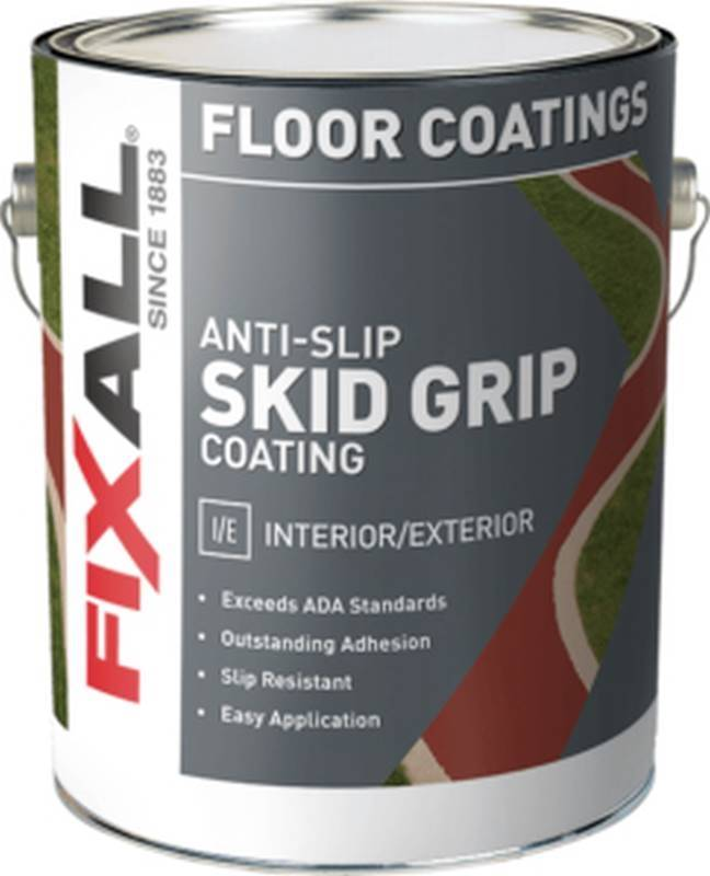 Paint Anti Slip Crimson Gallon Case Of 4