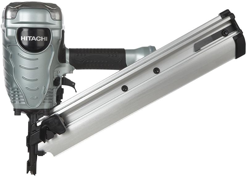 Hitachi NR90ADPR Lightweight Framing Nailer, 50 - 74 Nails, 2 - 3-1 ...