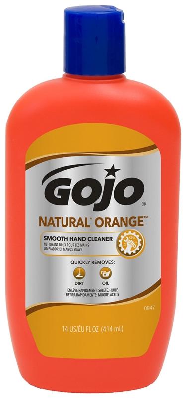 gojo 0947 12 hand cleaner natural orange smooth 14 oz