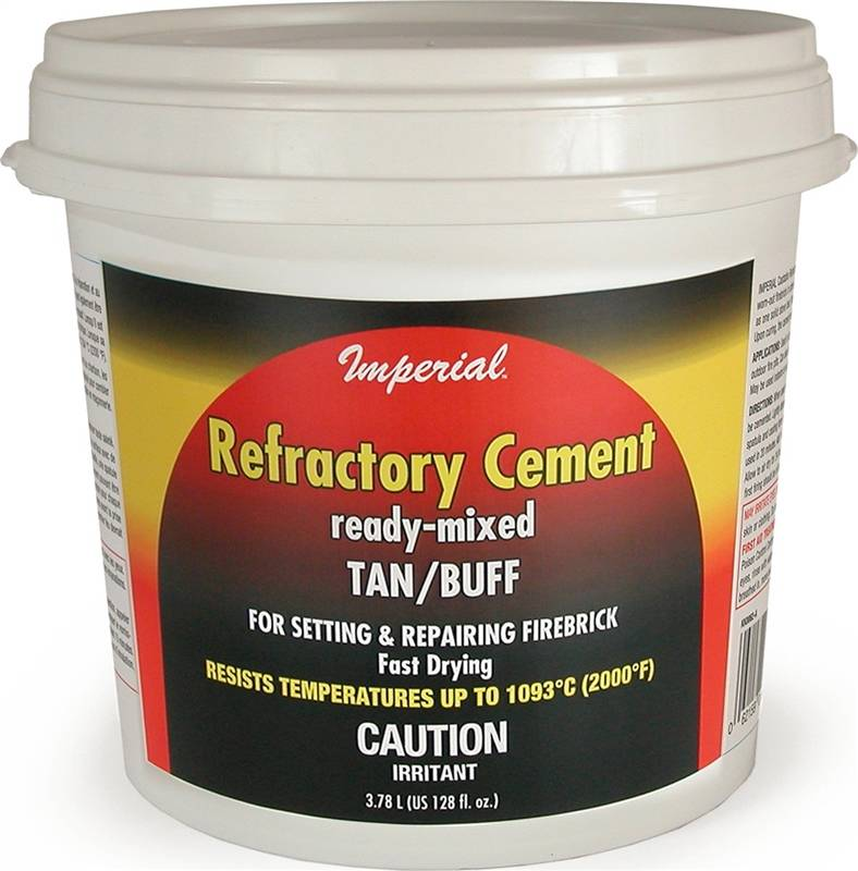 imperial kk0308 ready mixed refractory cement l tub. Black Bedroom Furniture Sets. Home Design Ideas