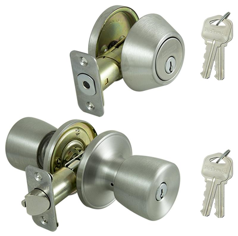 Prosource Bs621bra4b Tulip Door Entry Bolt Stainless Steel