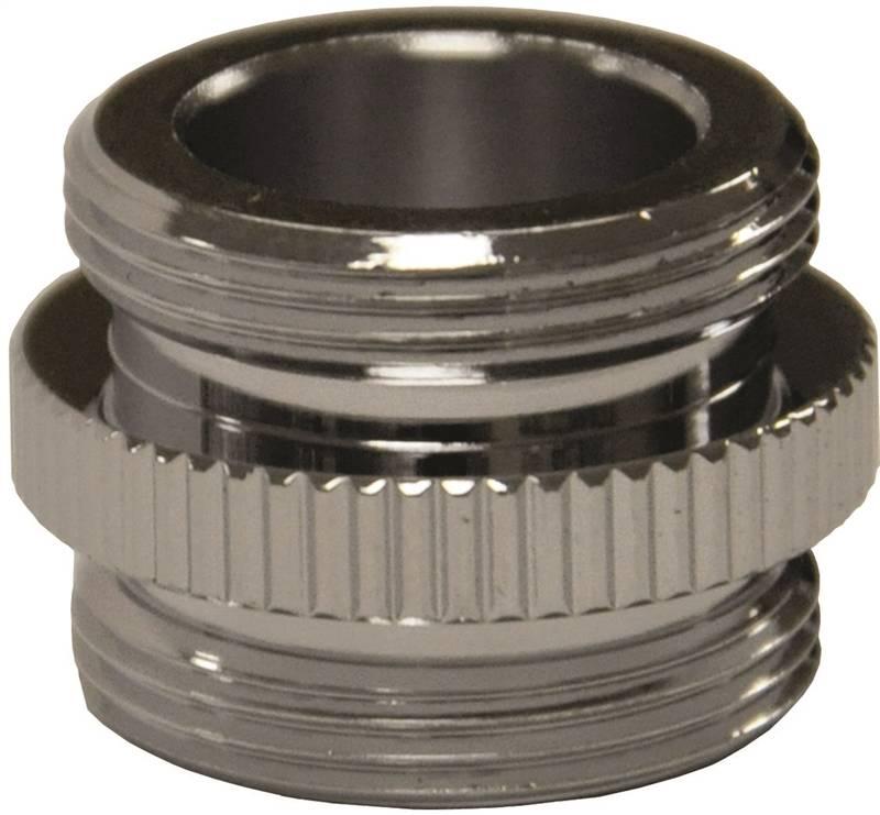 Danco 10523 Water Filter Aerator Adapter, 3/4-27 Male x 3/4-27 Male ...