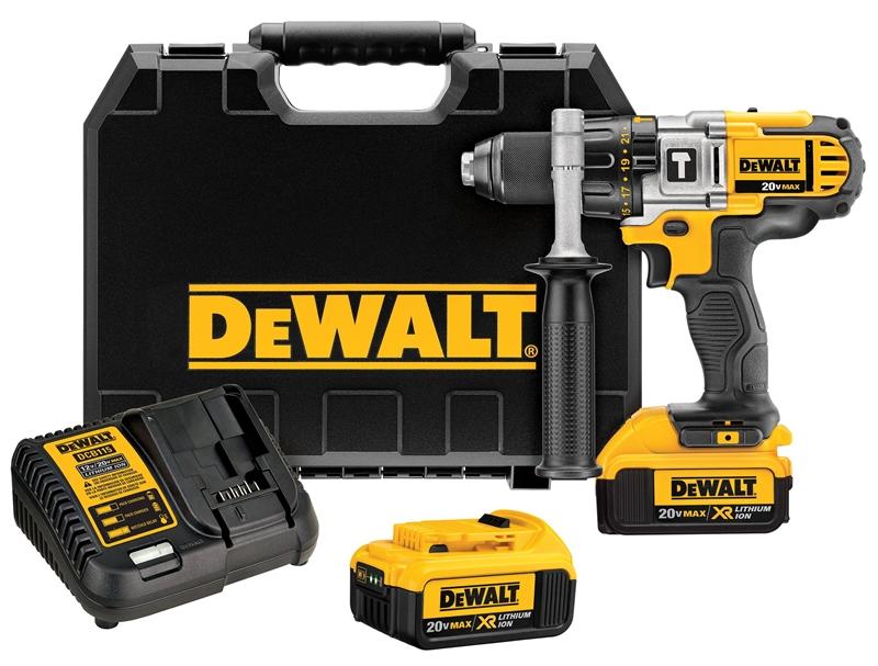 Dewalt DCD985M2 Cordless Hammerdrill Kit