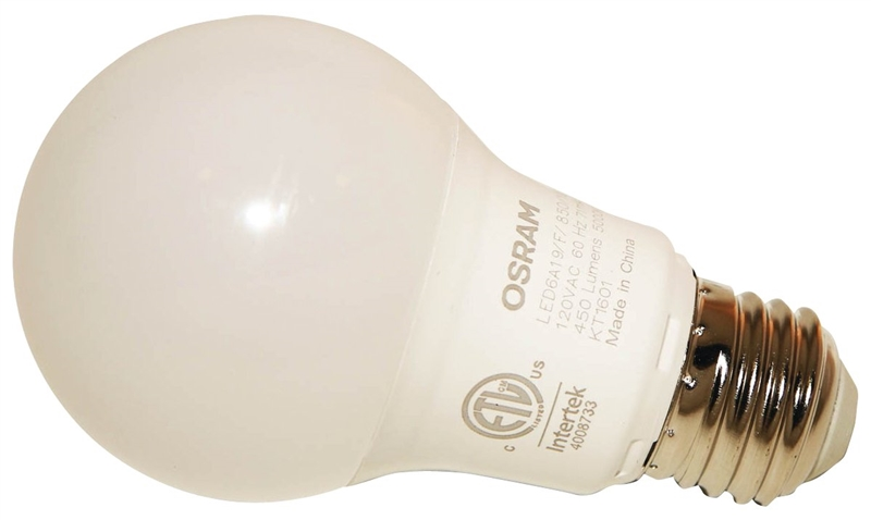 Osram Lamp6 Non VacA19 BulbMedium Hr W120 Dimmable 74084 Led Lumens11000 Sylvania BaseFrosted450 T1J3KclF