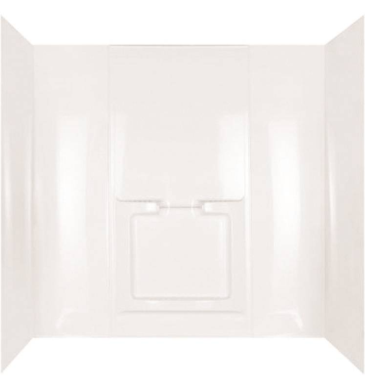 Marea 39714 5-Piece Surround Bath Tub Wall Kit, 42 in L x 72 in W x ...
