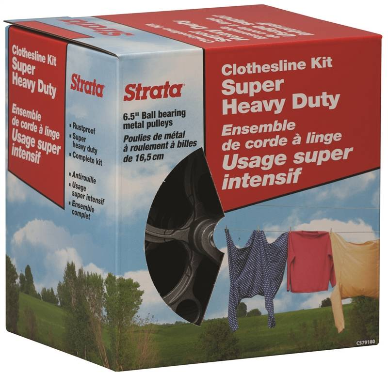 Strata C78050V 10 Metal Spacers//Wheels for Clothesline