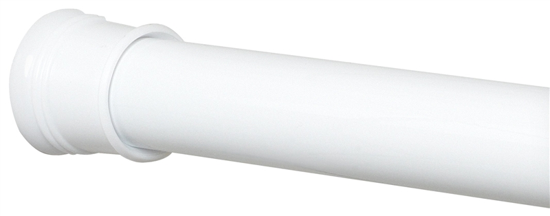 Zenith 505W Plain Straight Shower Curtain Rod