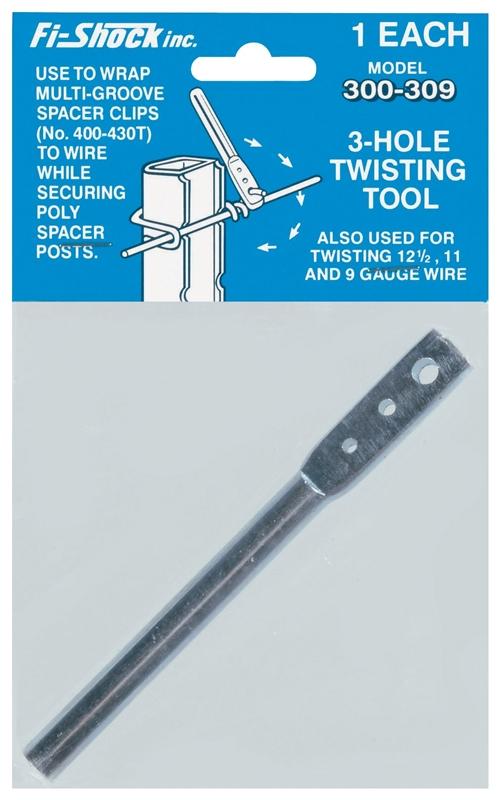 Zareba HTTT/300-309 Electric Fence Wire Bending Tool, 3-Hole
