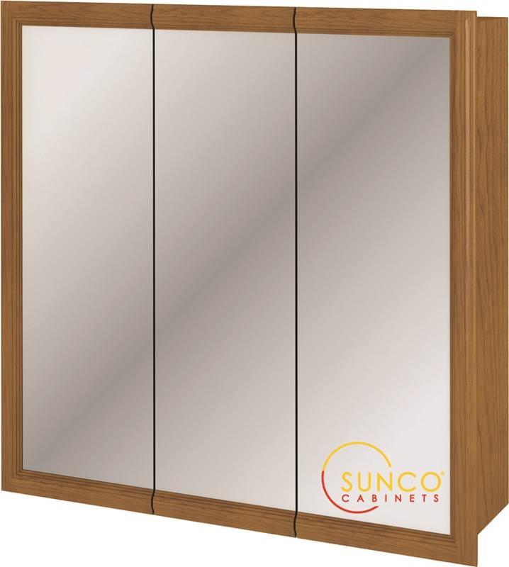 Sunco TRV3030RT Tri View Medicine Cabinet