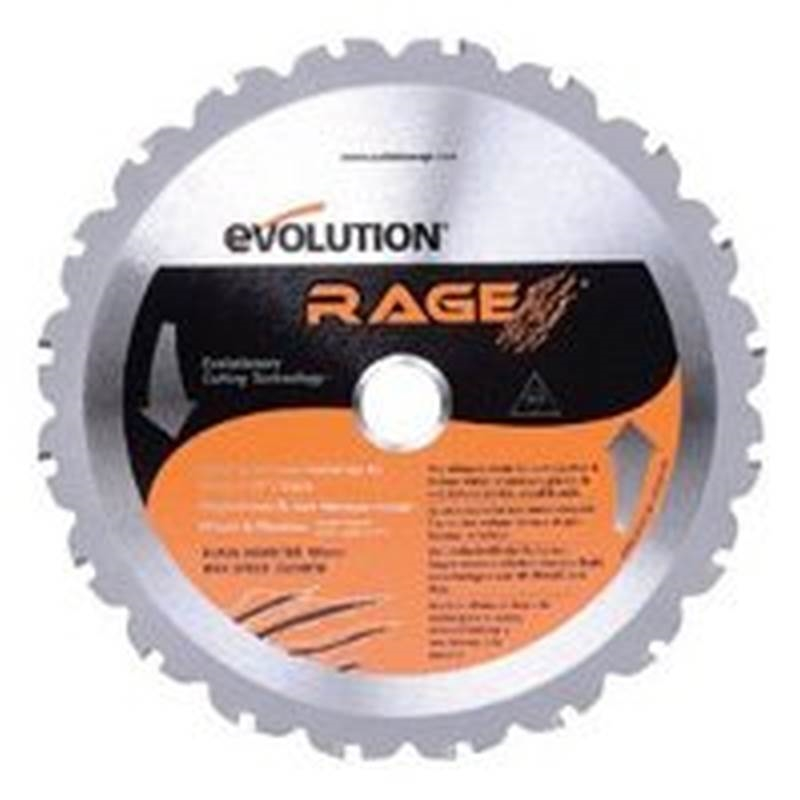 Evolution rageblade multi purpose replacement circular saw blade 7 evolution rageblade replacement circular saw blade greentooth Images