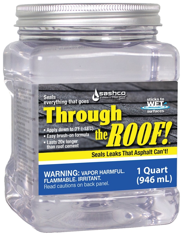 Through The Roof 14003 Roof Sealant 1 Qt Container