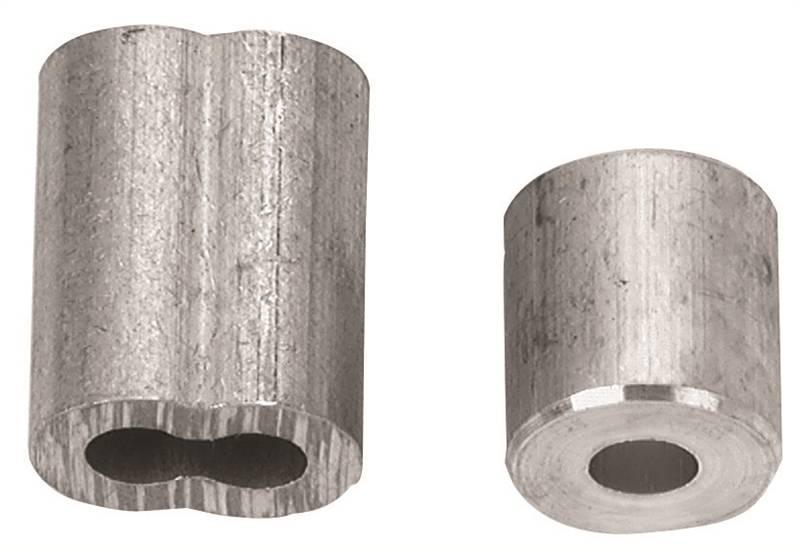 Campbell B7675304 Cable Ferrule/Stop, For Use With 1/16 in Rope