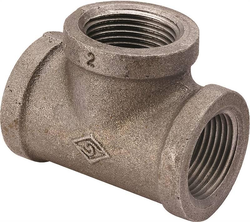 worldwide sourcing b130 6 pipe tee