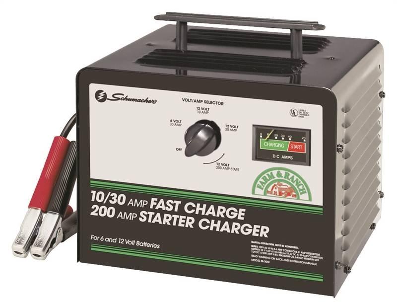 schumacher se-3010 manual battery charger