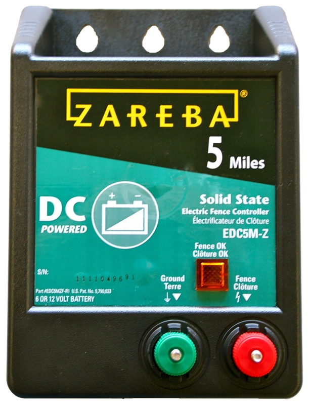 Zareba Edc5m Z B5 Solid State Electric Fence Charger