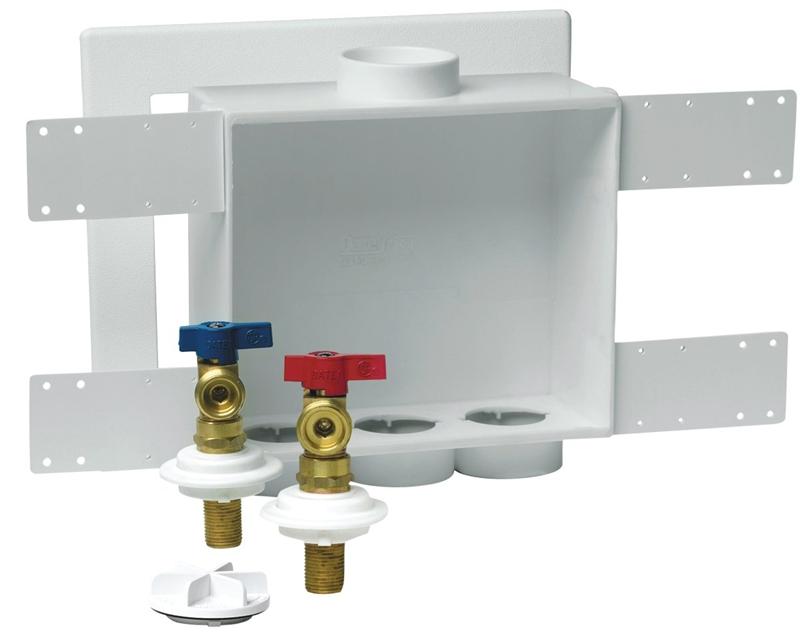Oatey Quadtro 38529 38934 Washing Machine Outlet Box 1 2