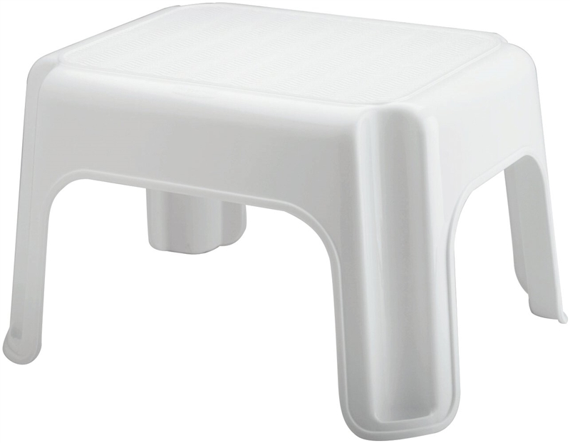 Rubbermaid Fg420087wht Utility Step Stool 9 1 4 In H X 15