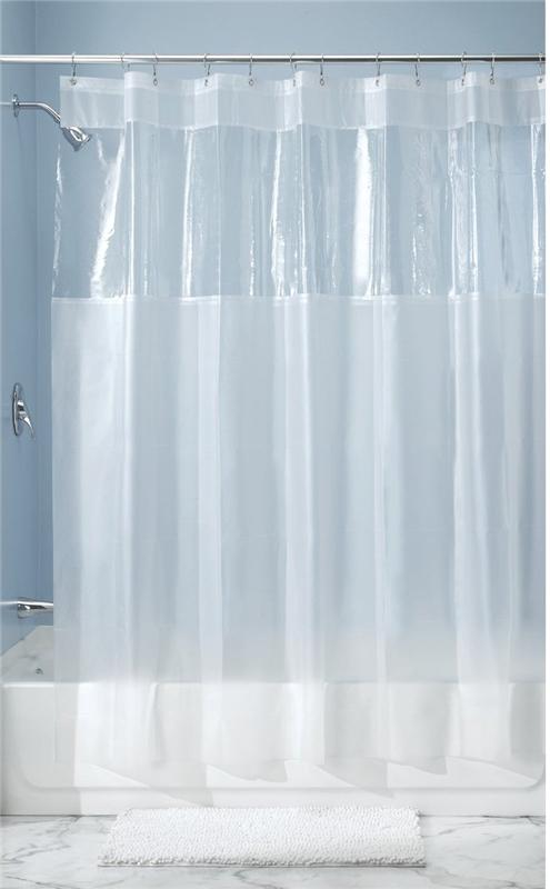 Interdesign 26680 Shower Curtain 72 In W X 72 In L X 1 4 In T Vinyl