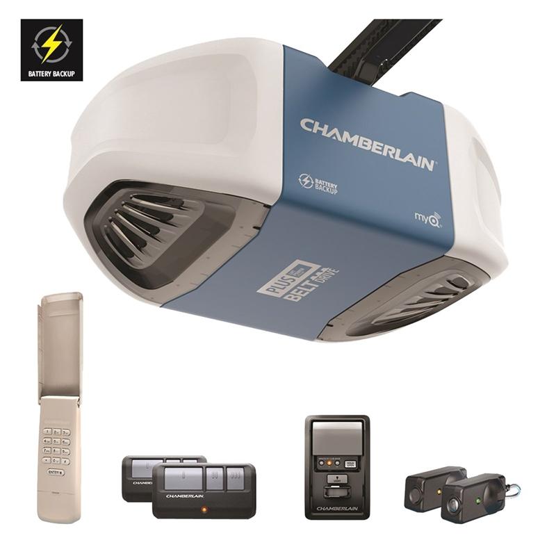 Chamberlain WD962KEV Garage Door Opener, 3/4 Hp, 100 W