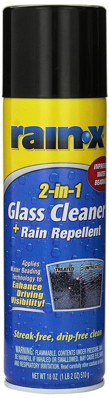 95973 GLASS CLNR RAINX 2-IN-1 FOAM