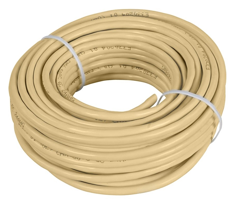 NEW ZENITH TL1025W WHITE 25 FOOT PHONE TELEPHONE LINE CORD 6315774