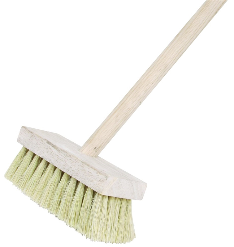 DQB  3 Knot  3-1//2 in W Wood  Roof Brush