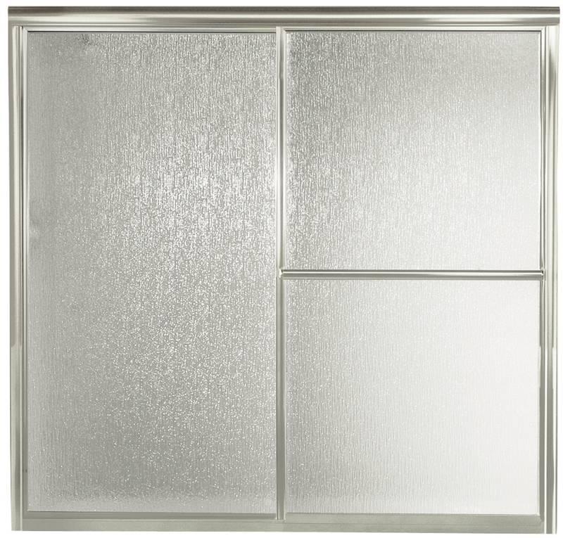Sterling 5900 Tub/Shower Door, 59-3/8 in W X 56-1/4 in H, Silver