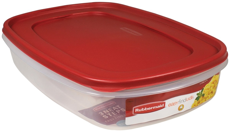 Easy Find 7J76 Square Food Storage Container